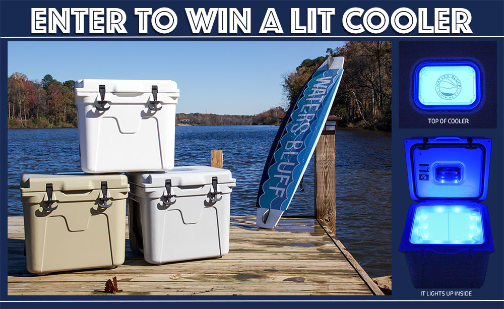 Enter to Win a Lit Cooler